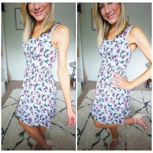 KENSIE size xs floral and bird print dress 🌸❤️